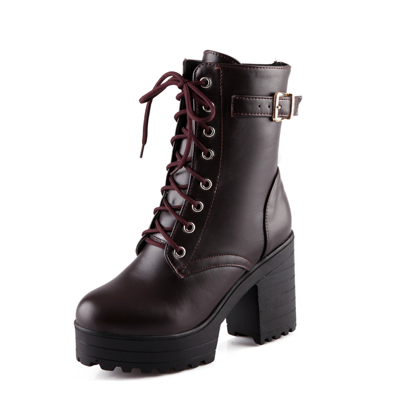 Popular Ankle Lace up Combat Boots-Buy Cheap Ankle Lace up Combat ...
