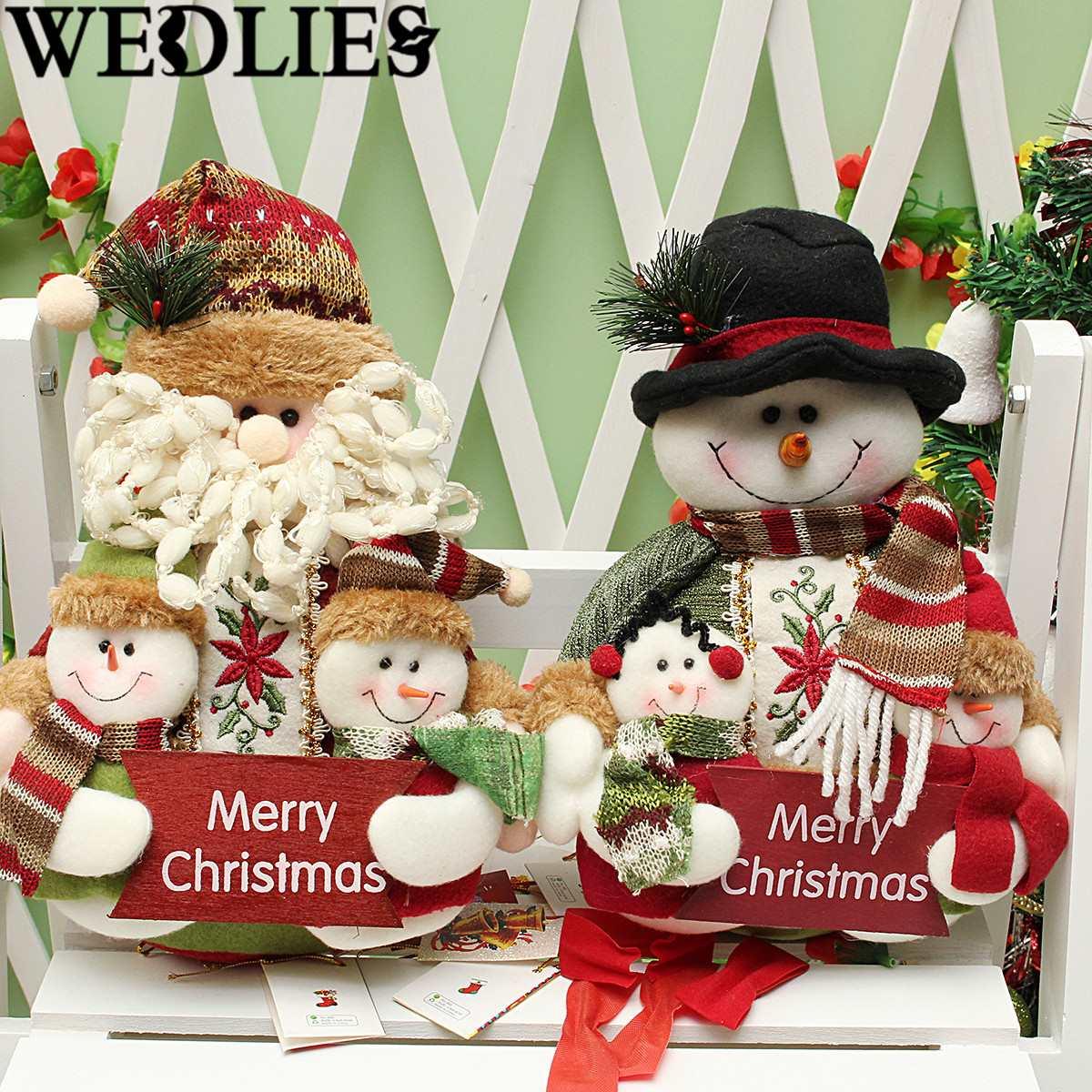 Flannel Christmas Font B Dolls