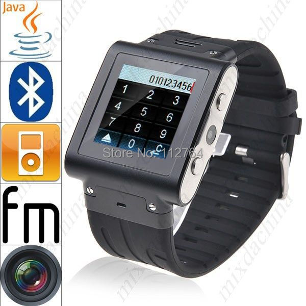 Aluminum W838 Wrist SMART Watch Mobile Phone Touch Screen 2GB ROM Waterproof GSM Quad Band Camera Bluetooth USB Russian French<br><br>Aliexpress