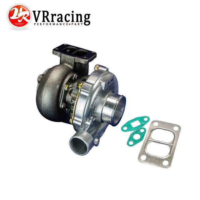 VR RACING-UNIVERSAL TURBO T3/T4 T3 KKK TURBOCHARGER 4 BOLT COMPRESSOR .50A/R  350HP+ VR-TURBO38