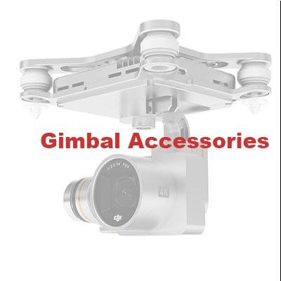 DJI Phantom 3 Sseries Gimbal Accessories Silver PTZ Gimble Accessories 7 Shaped Stand Yaw for DJI Phantom 3