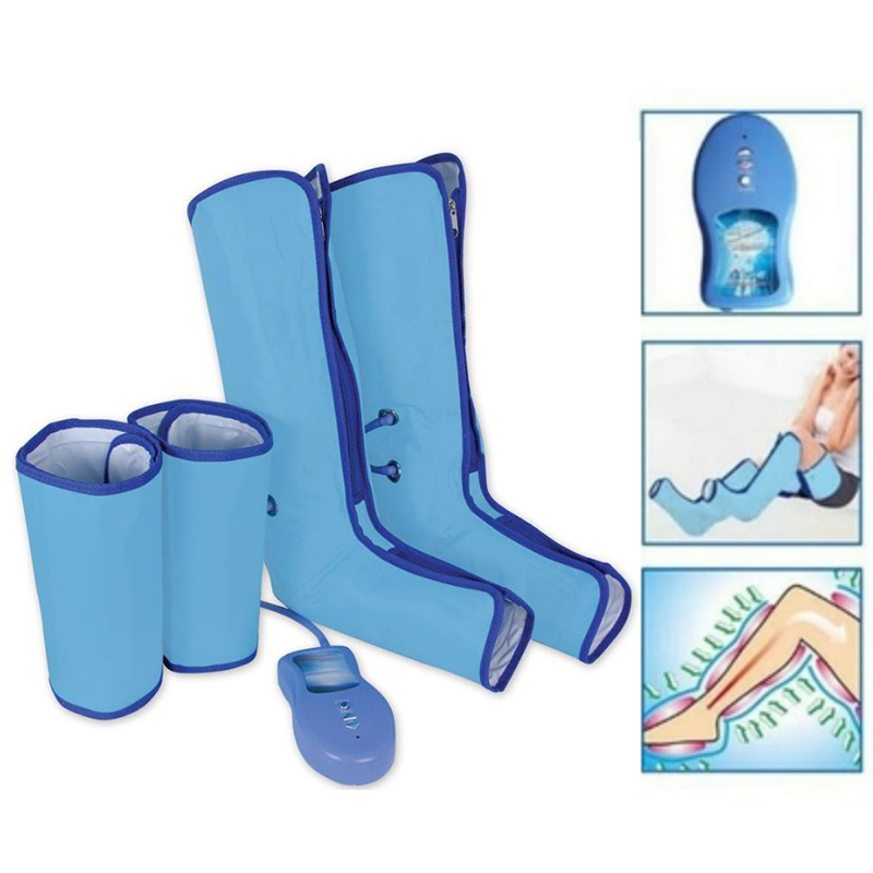 Air Compression Leg Wraps Boots Socks Heating Sauna Belt Relaxation Regular Massager Thigh Foot Ankles Calf Therapy Health Care(China (Mainland))