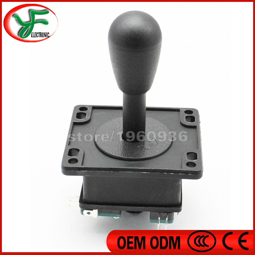 Free shipping 2pcs/lot HAPP Style Joystick - with 4 Microswitch for arcade machine parts DIY arcade game parts(China (Mainland))