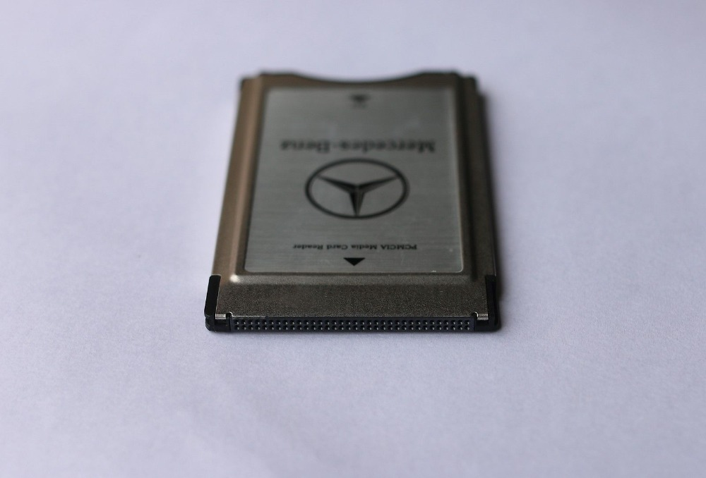 New genuine original pcmcia to sd pc card adapter supoort for Pcmcia card for mercedes benz