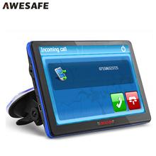 7 inch Car GPS navigation Bluetooth avin 256MB 800Mhz 8GB Full Europe USA Russia navitel navigator