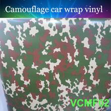 Best selling 5ftx33ft 1 52mx10m Car wrap Vinyl digital camouflage car wrap film with air drain
