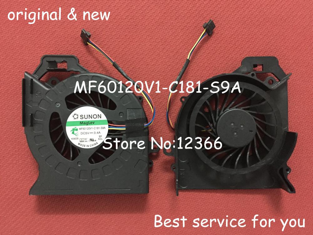 FREE SHIPPING NEW CPU FAN For HP Pavilion DV6 DV6-6000 DV6-6050 DV6-6090 DV6-6100 DV7-6000 Cooler Fan P/N:MF60120V1-C181-S9A