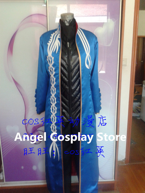 Game Anime Movie Devil May Cry Vergil Fashion Party Uniform Cosplay Costume Men Halloween Clothes NewОдежда и ак�е��уары<br><br><br>Aliexpress