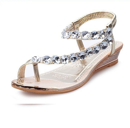 Unique Fashion New 2015 Summer Shoes Woman Sandals For Women Flats Flip Flops
