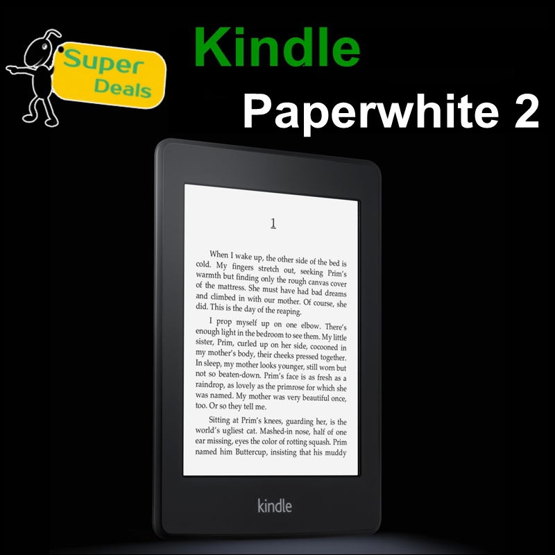 """New arrival !!! 6"""" Kindle Paperwhite 2 Built-in Light 4GB WiFi PDF TXT DOCX E-ink Ebook Reader,6 InchTouchscreen,In Stock(China (Mainland))"""