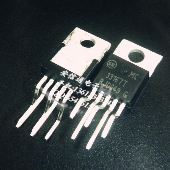 Free shipping 10pcs/lot MC33167T / down / inverter switching regulator new original(China (Mainland))