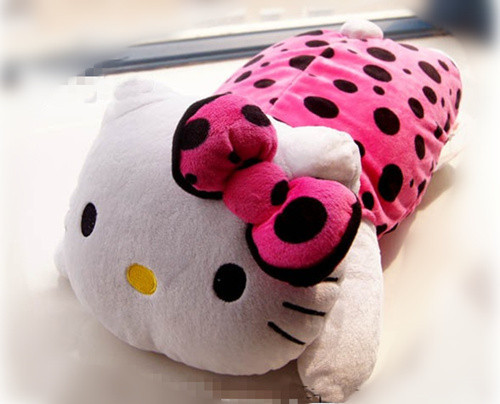 40CM Plush Stuffed Animals Hello Kitty Cat throw Pillow HELLO KITTY Doll Toy/toys Baby Girls Children Valentine Gift /Gifts(China (Mainland))