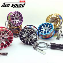Ace speed-New Aluminum wheel key chain BBS RIM wheel king JDM style Disc Brake Shape+BBS Rim Wheel 7 colors