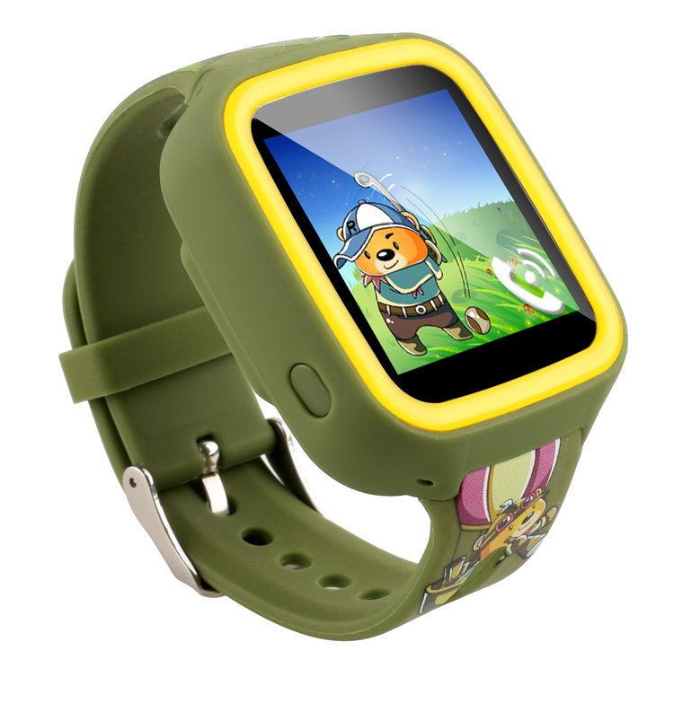 Safe Kids anti-lost device TFT 1.39inches color slide watch GPS LBS WIFI location smart watch phone Q5 pedometer sleep tracker(China (Mainland))