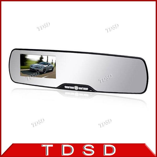 "2.7"" LCD Screen 12MP 1080P FHD Car Rearview Mirror Car DVR Digital Video Recorder w G-sensor Motion Detection Vehicle Black Box(China (Mainland))"