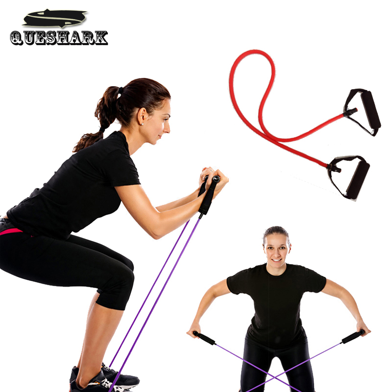 Pull Rope Fitness Resistance Bands Resistance Rope Exerciese Tubes Elastic Exercise Bands for Yoga Pilates Workout Gym Equipment(China (Mainland))