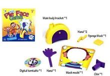 2016 neue Ankunft Laufschuhe Mann Pie Gesicht Spiel Familie Eltern-kind-mode Kind Party Neuheit Spielzeug Schlagsahne Brettspiel Spaß Prank Lustige Gadget(China (Mainland))