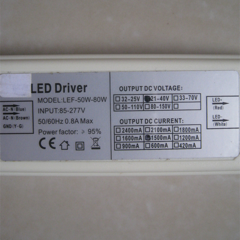 LED driver 50W 1500mA Constant Current CE EMC certification<br><br>Aliexpress