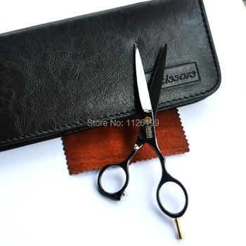 Волосы ножницы резка сдвига черный титан профессиональный волос ножницы комплект ...