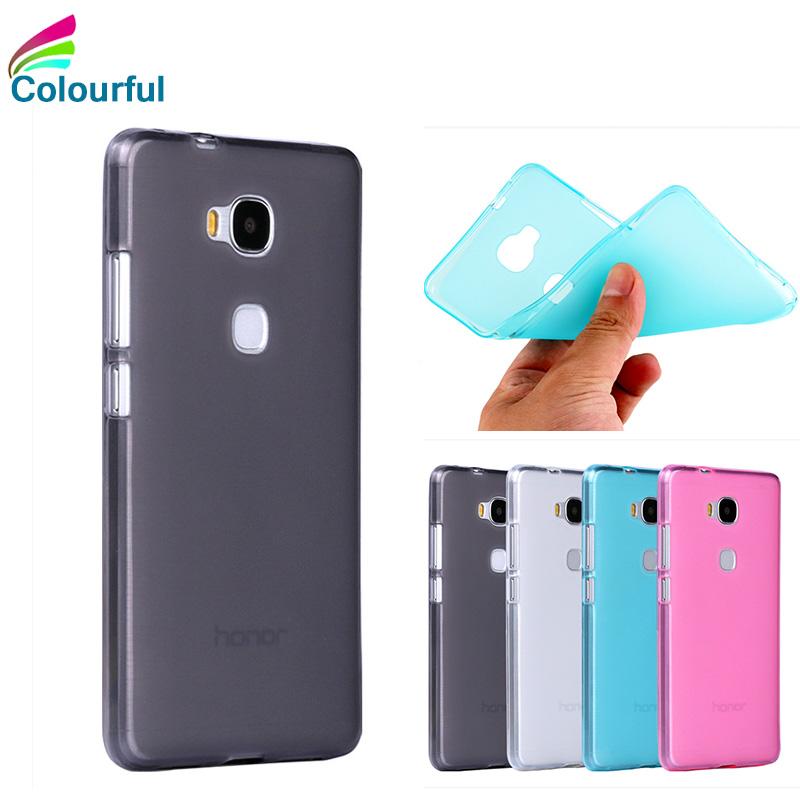 For Huawei Honor 5c Case Luxury Cute Matte TPU Case For Huawei Honor 5c Case Silicone Soft Protective Phone Bag Back Cover Skin(China (Mainland))