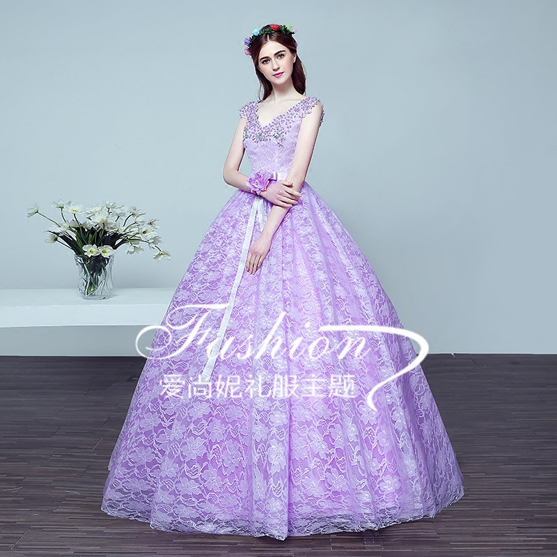 100%real embroidery flower purple medieval dress Renaissance gown Sissi princess  Victorian Gothic/Marie Belle BallОдежда и ак�е��уары<br><br><br>Aliexpress