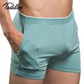 Taddlee Brand Sexy Men Underwear Boxer Shorts Mens Trunks Man Cotton Underwear High Quality Home Sleepwear