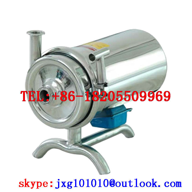 BAW stainless steel sanitary pump, can transport milk, paste, fruit juice, peanut butter - anhui grundfos machinery&equipment Co.,ltd store