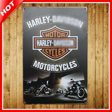 "Motorcycles Retro Vintage Tin Sign 8""x12"" Metal AD Sign Bar/Pub/Garage Wall Decor Tin Plaque Metal Art Poster(China (Mainland))"