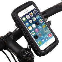 Bike Bicycle Holder Waterproof Case Bag Mobile Phone Case Holder Motorcycle Phone Holder for iPhone 6/6S/6 Plus/6S Plus/5/5C//4S