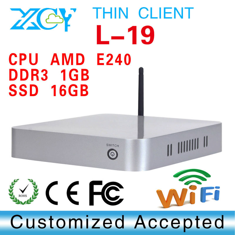 Smallest computer wireless pc thin client wifi support win 7 XP system(China (Mainland))