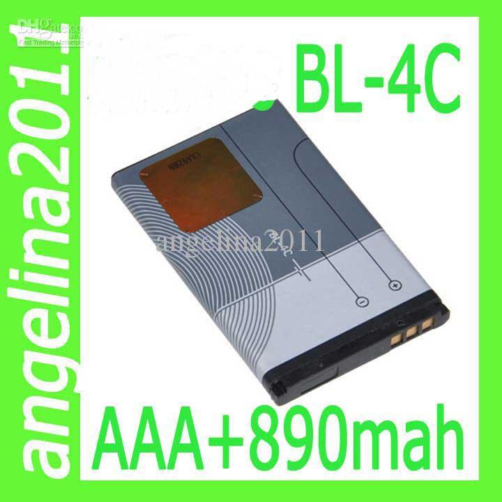 BL-4C 900mAh battery for Nokia 6260 6300 6301 3108 3500c freeshipping(China (Mainland))