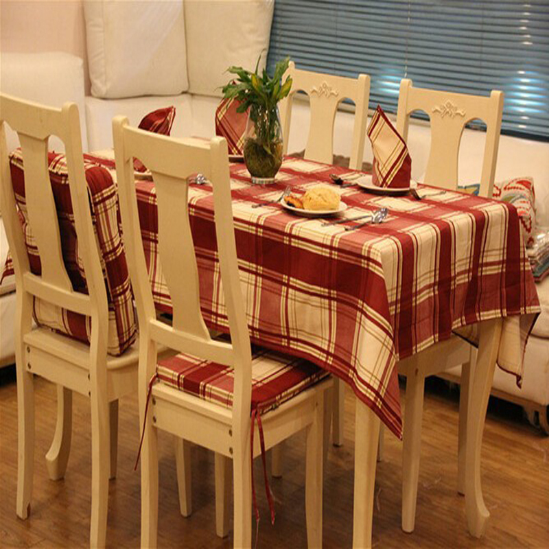 Mantel a cuadros rojos de alta calidad compra lotes - Manteles mesa rectangular ...