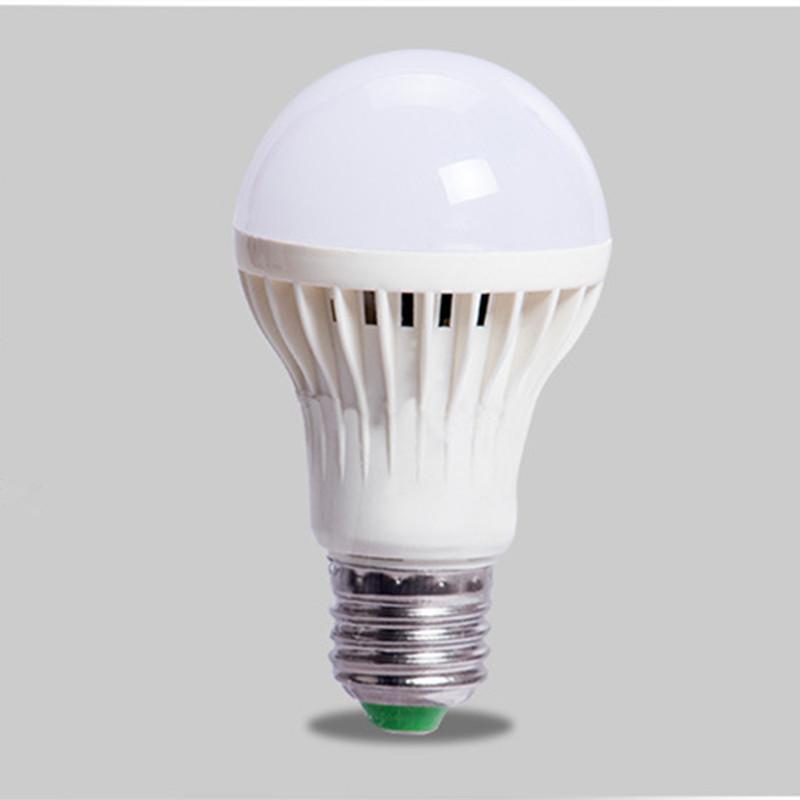Motion Sensor Lamp E27 motion sensor Light Bulb 5W 7W Auto Smart Led PIR Infrared Body Sound Lamp With The Motion Sensor(China (Mainland))