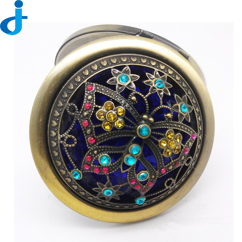 Online buy wholesale vintage mirror compacts from china for Miroir double face
