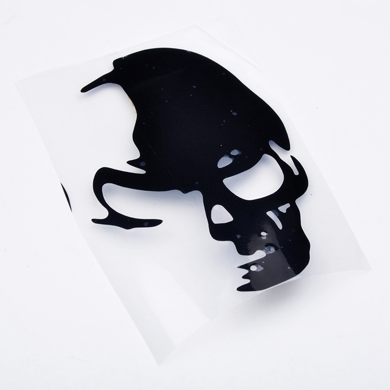 Cheap Price -1PCS 8cm*12cm Cool Skull Car Reflective Stickers Funny And Creative Car Styling Car Decoration Decal LS QP0052 A3(China (Mainland))