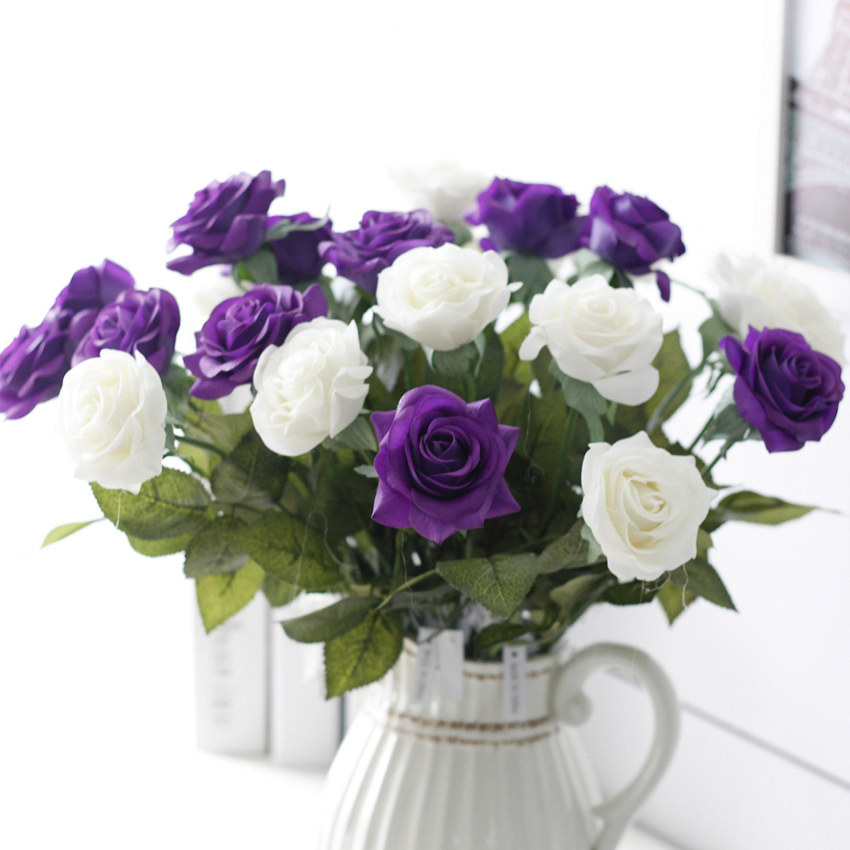 popular blue flower centerpieces for weddings buy cheap blue flower centerpieces for weddings. Black Bedroom Furniture Sets. Home Design Ideas