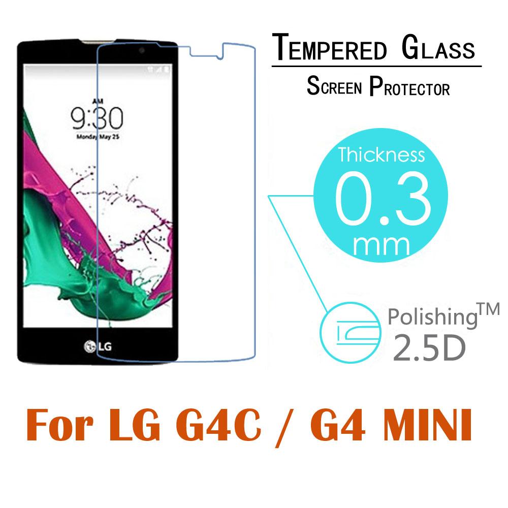 10шт 0.3 мм 9h 2.5 D взрывозащищенные закаленное закаленное стекло для LG G4C/ Магна H502/ G4 мини H525N ЖК-дисплей HD экран фильма протектор