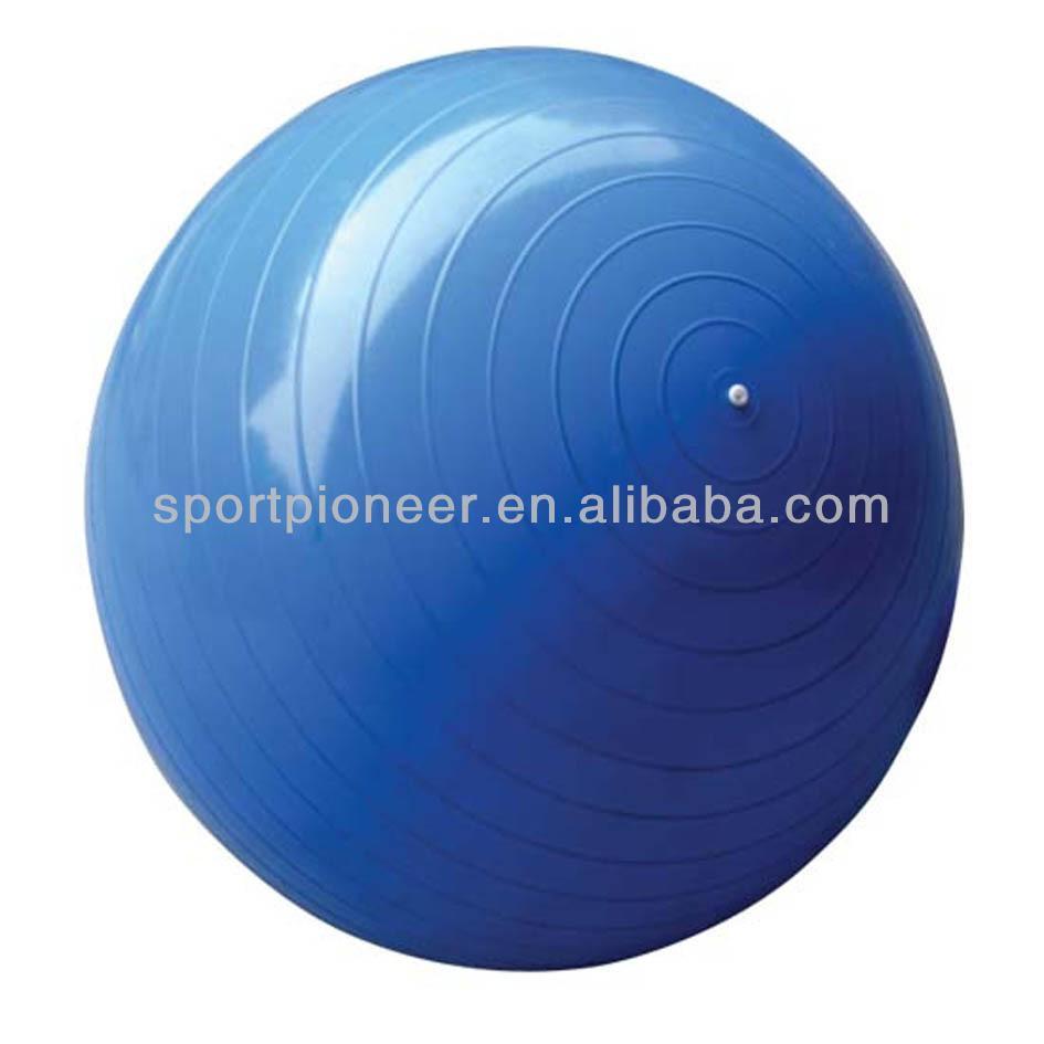 75cm Hot Sale high elastic anti-burst massage yoga ball pvc flexibility training exercise gym ball(China (Mainland))