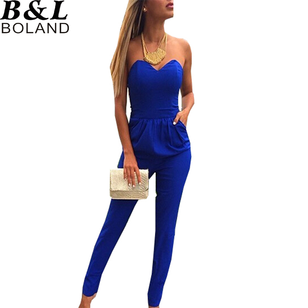 New Aliexpresscom  Buy New 2015 Summer Jumpsuit Women Rompers Long White
