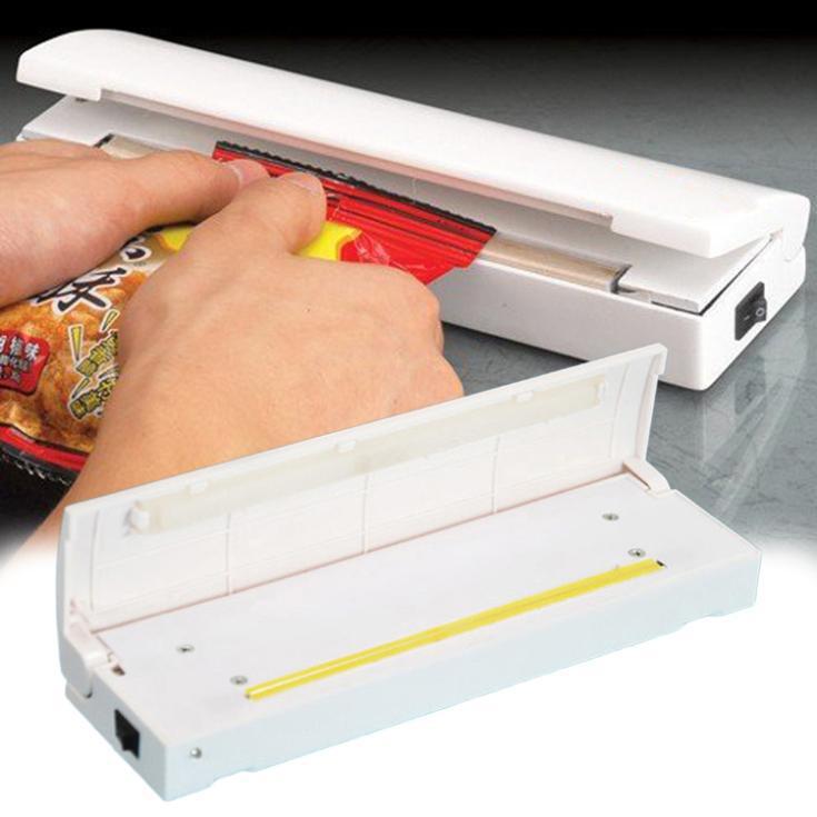 Food Vacuum Sealer Save Portable Reseal Storage Bag Keep Food Drop Shipping HG-1486\br(China (Mainland))