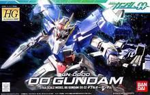 100% Genuine bandai model /Free shipping /00-22 HG 1:144 Gundam 00 GN-0000 Celestial Being / Assembled gundam Model Robot gunpla
