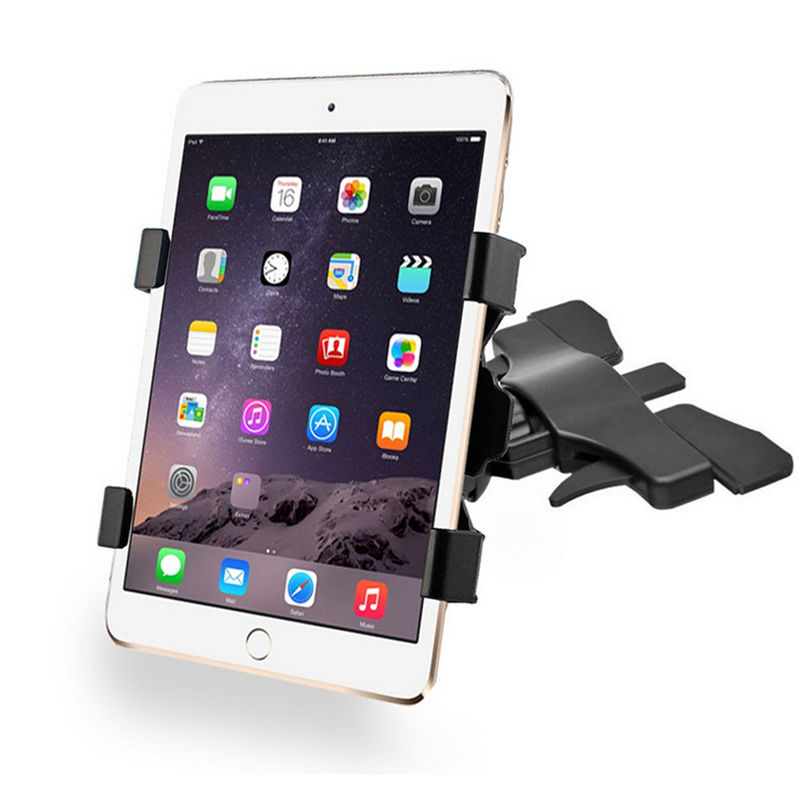 Brand New Black 360 Degree Adjustable Universal Car CD Slot 7-10 Inches Tablet Mount Holder For Ipad Holder For Samsung Tablet<br><br>Aliexpress