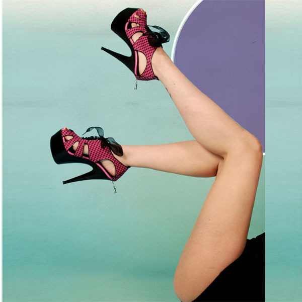 Ultra-high with waterproof platform shoes cloth with mei red suede fish mouth single 15 cm high heel shoes
