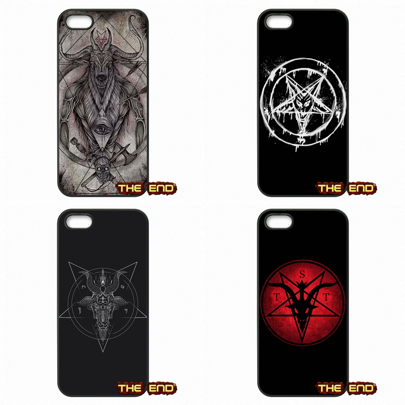 Stunning Greatest Satan Logo Mobile Phone Cases Covers For Apple iPod Touch 4 5 6 iPhone 4 4S 5 5C SE 6 6S Plus 4.7 5.5(China (Mainland))