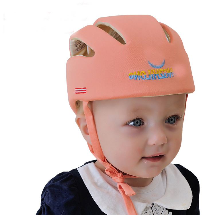 Baby Safety Helmets Cotton Infant Protective Hat Headguard for Newborns Boys Girls Crashproof Anti-shock Hat Safety Cap for Baby(China (Mainland))