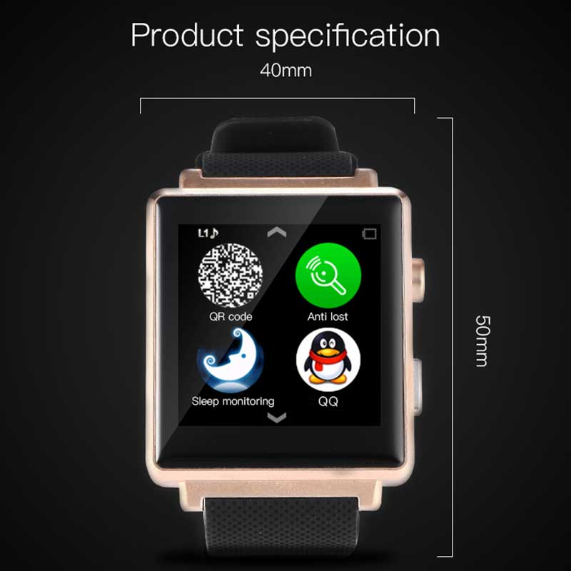 2016 New Bluetooth Smart Watch G900 Smartwatch For android support card Clock Pedometer Sleep Tracker With Camera Smart Watch(China (Mainland))