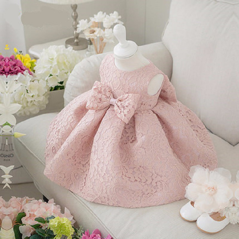 1-6 yrs Baby Girl Dress 2016 New lace Dress for Girl Princess Birthday Dress for Baby Girl wedding Dress for Infant kids clothes(China (Mainland))