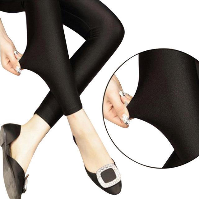 Сексуальная Твердые Конфеты Неон Плюс Размер женские Лосины Танцы Брюки Высокая Натяжные Одежда Балета