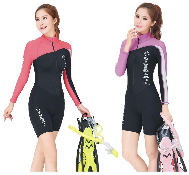 LS-606-3-Diveskin-Rash-Guards-Sun-protection-prevent-Long-Sleeve-Swimsuit-Swiwear-Women-Men-Adult-Diving-Suit