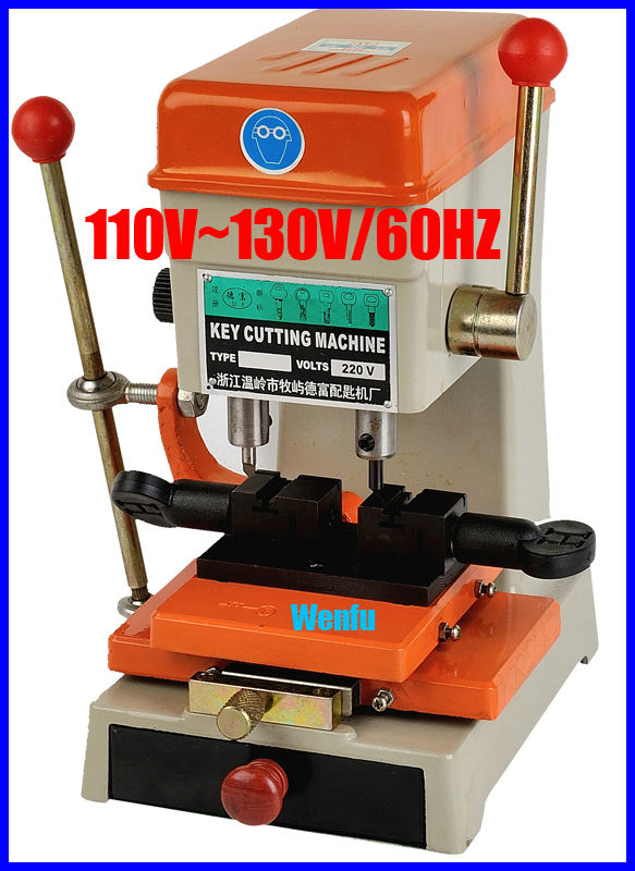368A vertical car and house key cutting machine 110v / 60hz(China (Mainland))